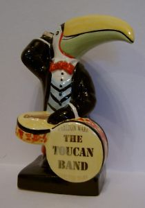 Carlton Ware Toucan Drummer - 1/10 Limited Edition
